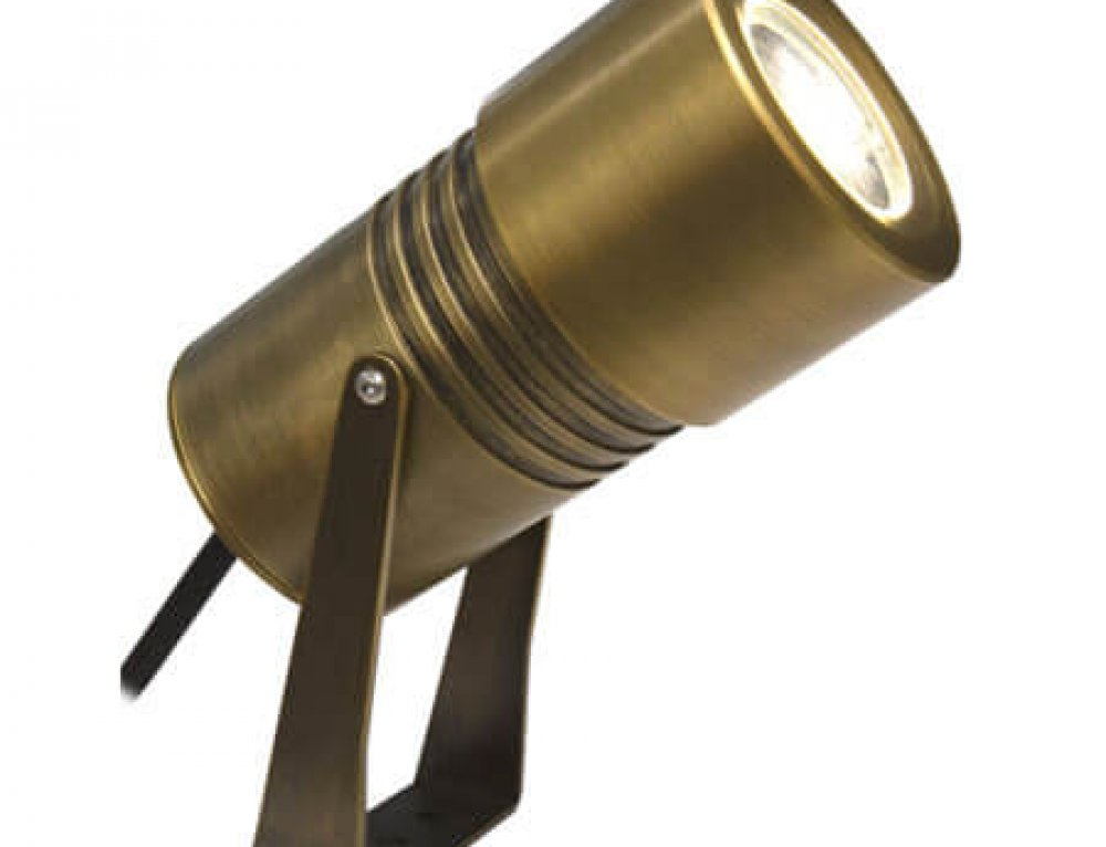 IP67 12/24V Brass LED Spot Garden light